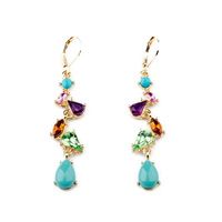 Fashion fashion accessories multicolour fresh women's earrings earring