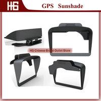 Wholesale!MOQ100PCS/Universal GPS Sunshade Sunshine Shield for 7 inch Car GPS /GPS Sunshade/Accessories for Portable GPS
