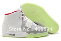 Free Shipping Mens Sneakers Shoes 2013 Top Brand Air Yeezys 2 Shoes Kanye Basketball Shoes Cheap Air Yeezy 2 Shoes Kanye West