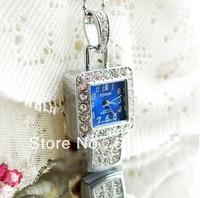 Jewellry USB watch flash drive 4-32GB novelty deisgn crystal flash memory stick pen drive+Free shipping