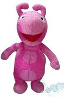 The backyardigans stuffed & plush dolls with appease music, cute Uniqua,educational toy and best gift for kids
