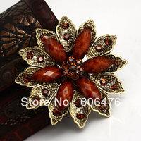 H008 wholesale Multicolour brooch fashion vintage brooch muslim hijab pin wholesale 60pcs per lot