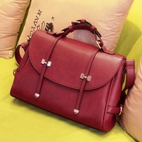Fashion women's handbag vintage messenger lady's breifcase shoulder bag freeshipping good quality