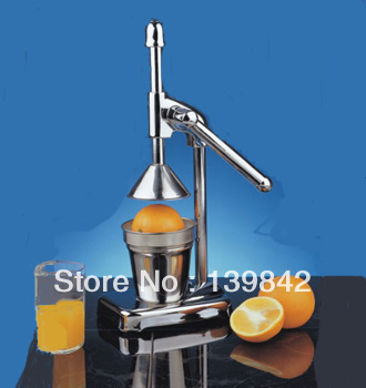 Hand press juicer Manual juice machine orange juice machine juice press device(China (Mainland))