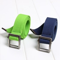 2013 casual belt outdoor thickening male canvas belt canvas strap belt lovers