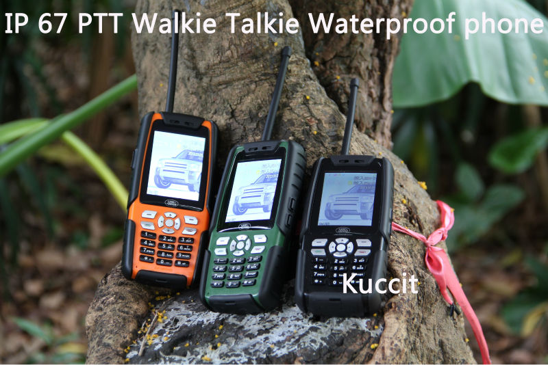 3800mah original PTT Walkie Talkie L8 IP67 Rugged Waterproof phone Senior old man mobile TV Long standby GSM Cubot DT99 Russian(China (Mainland))