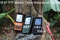 3800mah original PTT Walkie Talkie L8 IP67 Rugged Waterproof phone Senior old man mobile TV Long standby GSM Cubot DT99 Russian