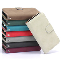 Pouch Leather Flip Hard Magnetic Style Cover Case For iPhone 4G 4S Holster Fashion Stand Wallet Bag Free Shipping