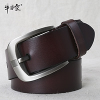 Min order$15(mix order) Cattle male strap genuine leather belt male strap male cowhide all-match casual pants belt male 1047