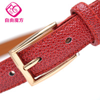 Min order$15(mix order) Cowhide strap Women women's genuine leather belt female fashion all-match 8056 decoration