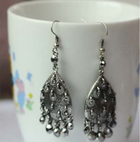 Mix order>=15usd Fashion accessories vintage cutout national trend earrings e352