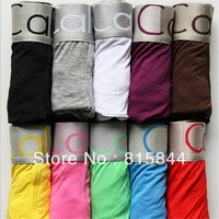 Hot Sale 10pc/lot New 2013 High Quality Mens Underwear Boxers Underwear Men Boxer For Men Boxer Shorts Sexy Men Underwear