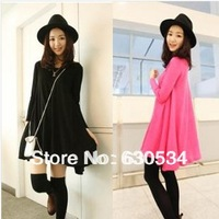 Autumn Hot Selling Dress As Basic Skirt For Pregnant Gravida As Maternity Clothes.Two Colors.Free Size.Free   Shipping.