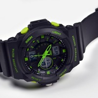 Luxury Men fashion outdoor fun sports Watch MultiFunction Military LED Digital Waterproof Alarm Watches stopwatches