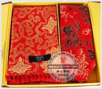 Brocade scarf collar belt gift box unique gift lucky gift crafts