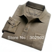 FREE SHIPPING  autumn clothes MEN'S  long-sleeve T-shirt / men's clothing  t-shirt