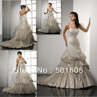 Free Shipping ! Factory Direct Sell !   Classic Style Wedding Dress 2013 Hot Sell    ---  AA118