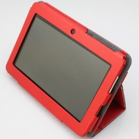 Fee Shipping Original 7 inch Leather case tablet case for A13 Q88 TABLET PC+Free screen protector+dust plugs