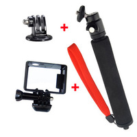 F06667-A Extendable Handheld Monopod Self-Portrait Holder + Tripod Mount + Standard Border Frame Mount for GoPro Hero 3 freeship