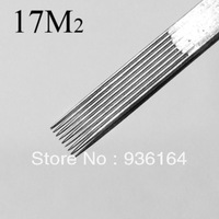 Tattoo equipment tattoo needle 17 m2 double needle tightening 5 needle variegating needle tattoo pin professional tattoo tools