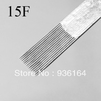 Tattoo equipment 50pc tattoo needle 15F single pin 5 needle variegating needle tattoo pin TATTOO TOOLS FREE SHIPPING