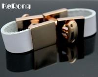 High quality Men's cufflinks Trendy Leather belt Cufflinks pd02  Free shipping