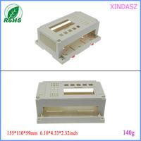 4 piece a lot abs plastic  electronic enclosure din rail box for electronic enclosure 155*110*60mm 6.10*4.33*2.32inch