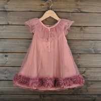 Free shipping wholesale HIGHT QUALITY chiffon child gril dress gril princess skirt  from 100 to 140cm 5pcs/lot