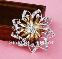 H012 wholesale Alloy  brooch fashion  muslim hijab pins 60pcs per lot free shipping
