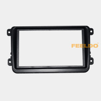 Car DVD/CD Radio Stereo Fascia Panel Frame Adaptor Fitting Kit For Volkswagen Passat/Touran/Jetta/Golf/Caddy/EOS/FOX #4407