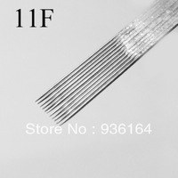 FREE SHIPPING Tattoo equipment tattoo needle 11F single pin 5 needle variegating needle tattoo pin FREE SHIPPING tattoo tools