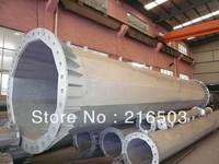 galvanised welded telegraph /reducer pole