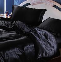 6pcs king size bedding set hot selling bed set wholesaler price satin bedclothes comforter set queen