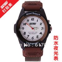 Supply Glow Retro Men Women belt students watch sports watch quartz watch waterproof watch wholesale business