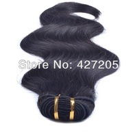 3pcs/Lot Brazilian Virgin Remy Hair Body Wave Human Hair Weave Extensions 12-24 Inch Color 0# Natural Black
