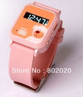 Free Ship!! GPS watch  GSM GPRS Tracker Watch Double Locate Remote Monitor SOS For child kids old