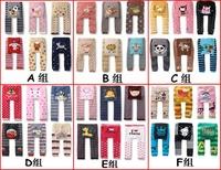 Better quality 6pcs/lot NEW Arrival Children Kids PP Pants Long Trousers Cartoon Legging Cotton Baby Boys Girls Wear