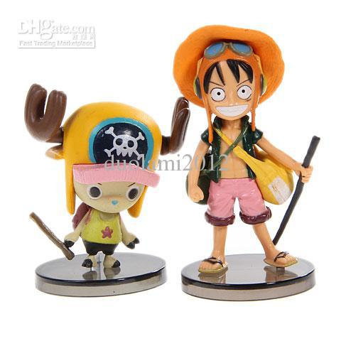 Wholesale - Funny One Piece Figure Doll Toy Collection with 6 X One Piece Set(China (Mainland))