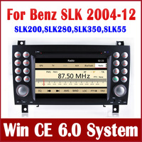 Head Unit Car DVD Player GPS Navigation for Mercedes Benz SLK 171 SLK200 SLK280 SLK350 SLK55  with Radio Bluetooth TV FM USB Map