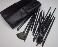 Professional Makeup Brush Set With 24 pcs Makeup Brush Kit Makeup Brushes Free Black Leather Case  Free Shipping
