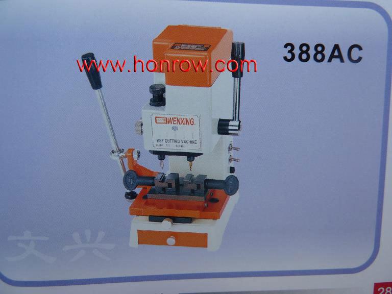 Model 388AC WenXing key cutting machine with vertical cutter(China (Mainland))