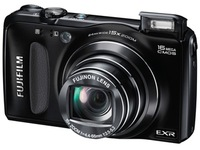 Fuji fujifilm finepix f665exr f660exr telephoto digital camera pixels