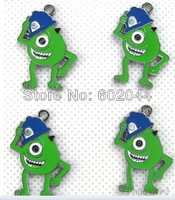 Free shipping 100pcs Monsters Inc Jewelry Making Figures Charms DIY Pendants Job Lot