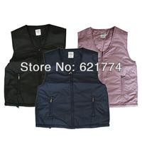 New Fashion Unisex V Collar Heating Waistcoat Electric Heating Underwaist Warm Heating Vest Wholesale Free Shipping