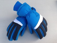 SMG013 winter males men 7-14 ages kids students children waterproof slip resistance thicken warm ski finger gloves free shipping