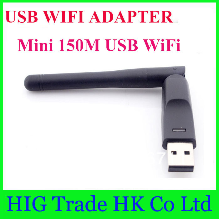 New 2014 Hot 802.11b/g Mini 150M USB WiFi Wireless Network Card LAN Adapter with 2dbi Antenna wifi antenna usb(China (Mainland))