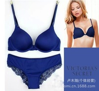 Free Shipping Euroamerican style of ladies underwear bra set  5 colors