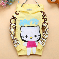 Fall stocking cotton bow personalized sleeve k wholesale children's clothing