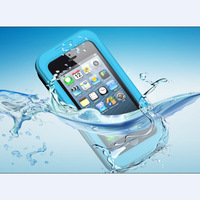 Free Shipping 100% sealed Waterproof Durable Water proof Bag Underwater back cover Case For iPhone 5 5s 4 4s IPOD touch 5 Pouch