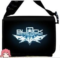 Free Shipping 2013 NEW  Style Black Rock Shooter BRS  Anime surrounding canvas shoulder bag  Inclined shoulder bag chool bag